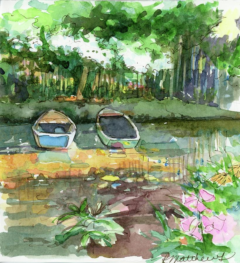 Monet's pond by Rebecca Matthews