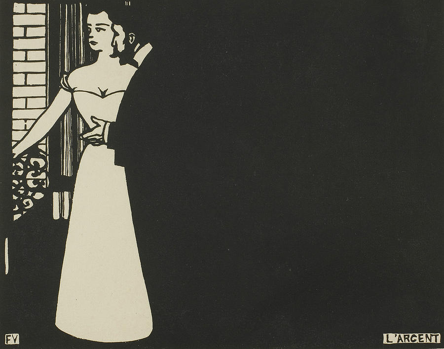 Money, plate five from Intimacies by Felix Edouard Vallotton