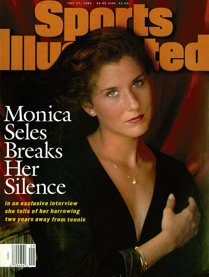 Monica Seles Breaks Her Silence Sports Illustrated Cover Photograph by Sports Illustrated