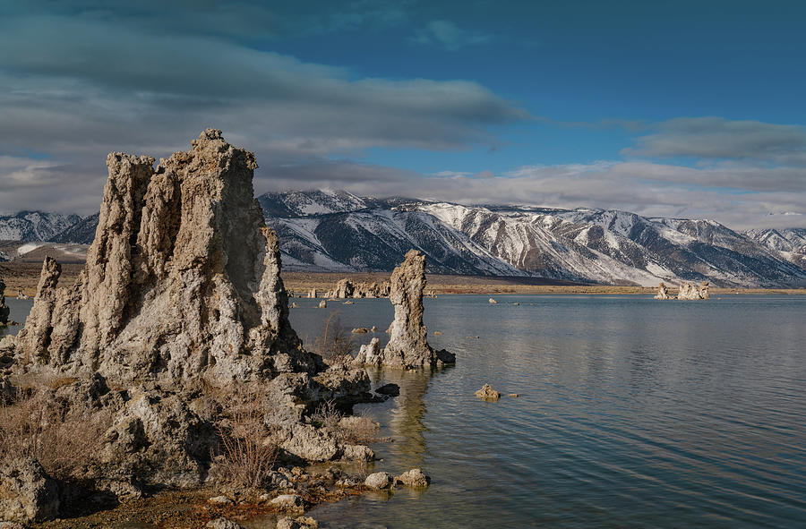 Mono Lake Between Storms by Janis Knight
