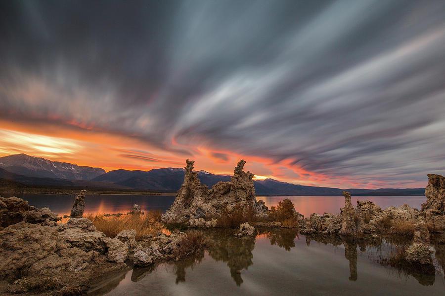 Mono Lake Sunset 2 by Davorin Mance