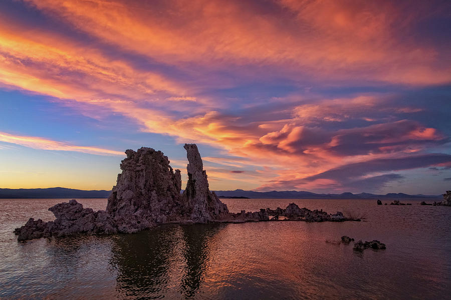 Mono Lake Sunset by Carolyn Derstine