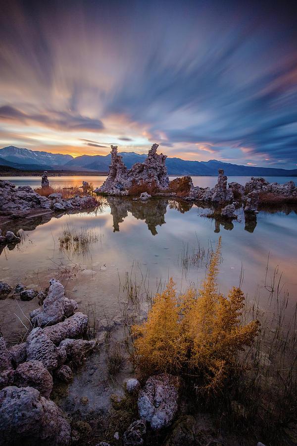 Mono lake sunset by Davorin Mance
