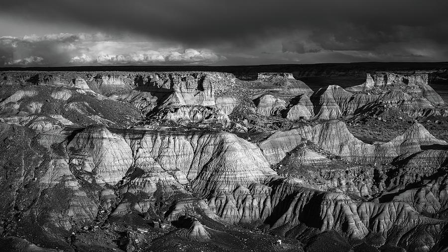 National Park Photograph - Monochrome Evening by Joseph Smith