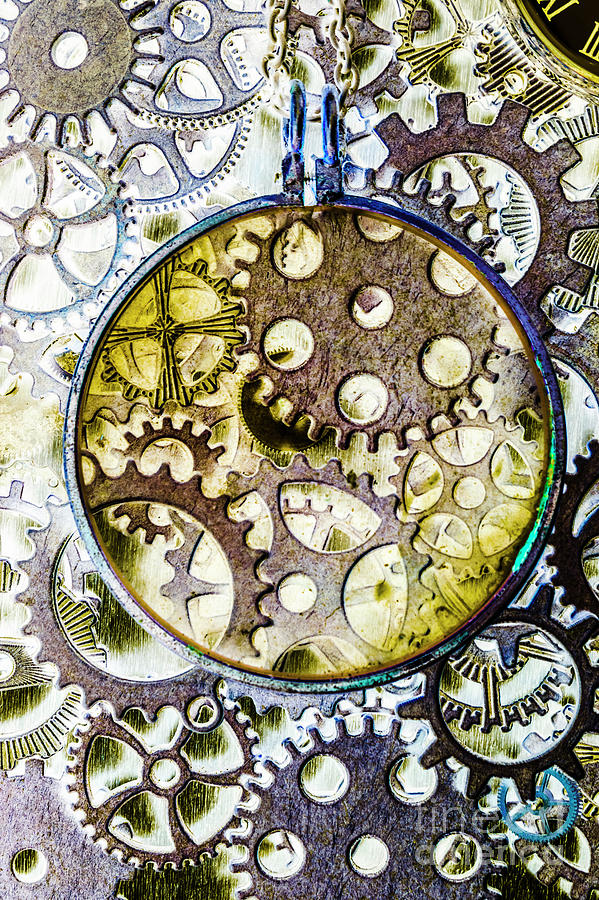 Steampunk Photograph - Monocle Machinery by Jorgo Photography - Wall Art Gallery
