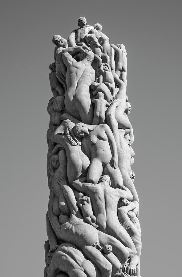 The Monolith by Gustav Vigeland by Phil Cardamone