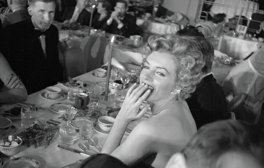 Monroe Attends Fpah Awards Photograph by Loomis Dean
