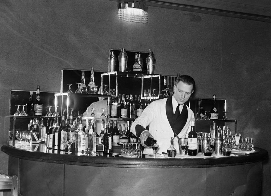 Monseigneur Bar Photograph by Sasha