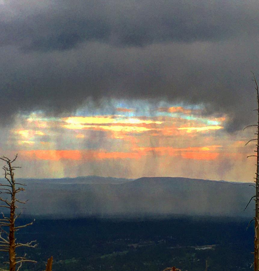 Monsoon Curtain Arrives by Michael Oceanofwisdom Bidwell