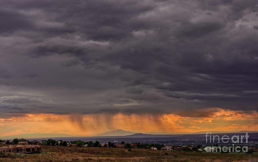 Monsoon Over The Volcanoes by Susan Warren