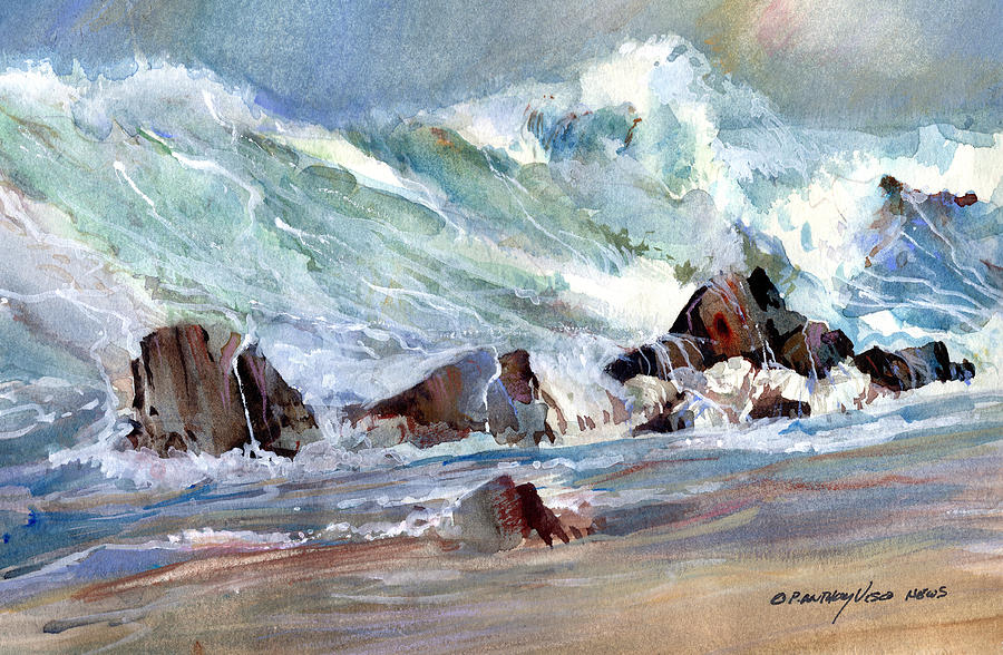 Monster Waves by P Anthony Visco
