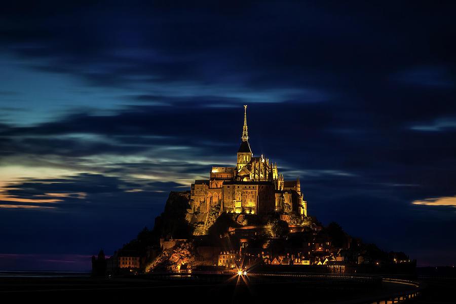France Photograph - Mont Saint Michel by Andrew Soundarajan