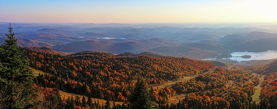 Mont Tremblant Summit Panorama by Andy Konieczny