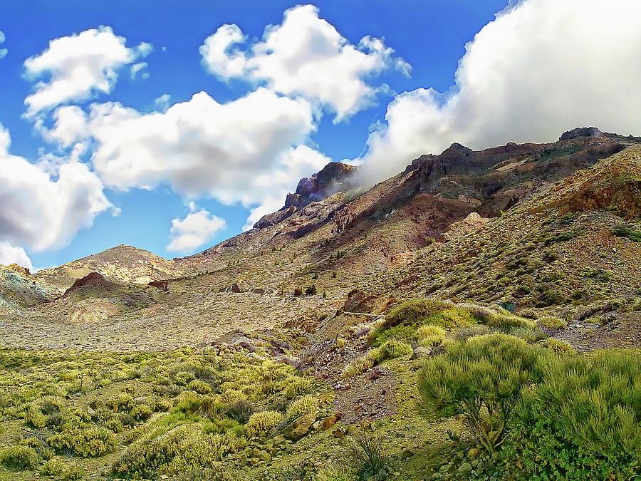 Montana Guajara Landscape by Anthony Dezenzio