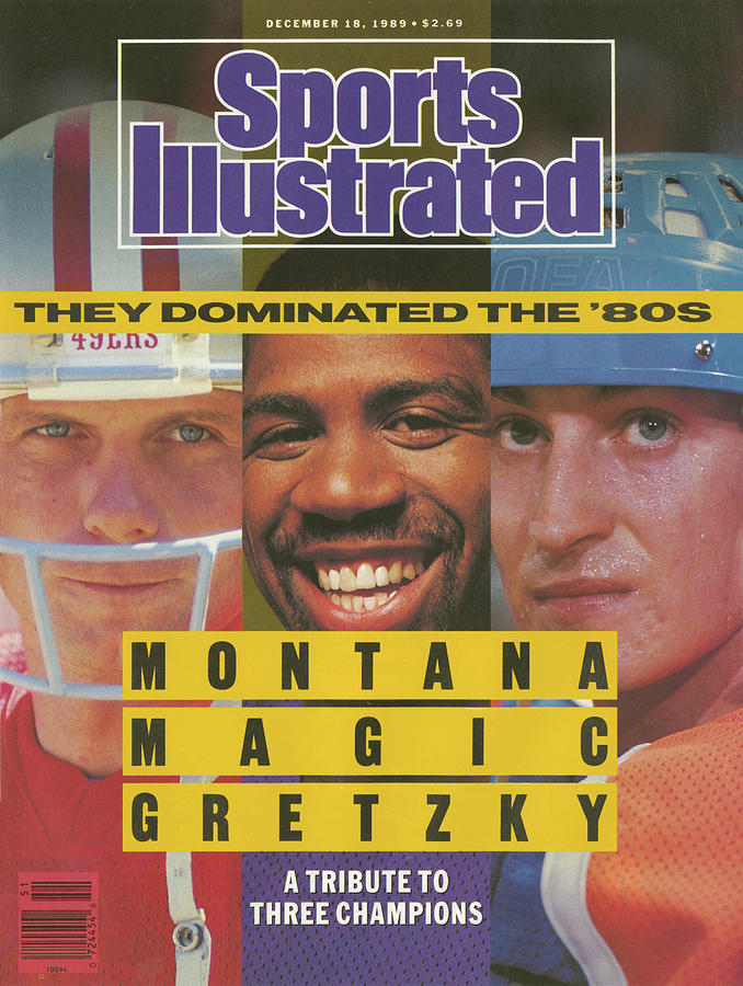 Montana, Magic, Gretzky A Tribute To Three Champions Who Sports Illustrated Cover Photograph by Sports Illustrated