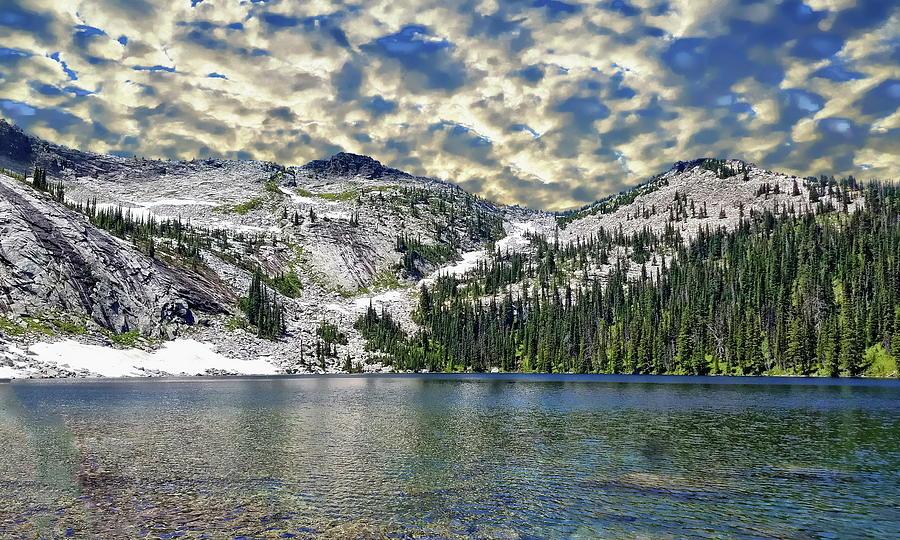 Montana Scenic View by Anthony Dezenzio