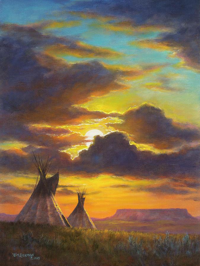 Montana Sky by Kim Lockman