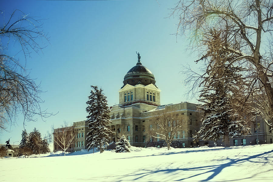 Montana State Capitol Building in Helena, Montana 2 by Tatiana Travelways