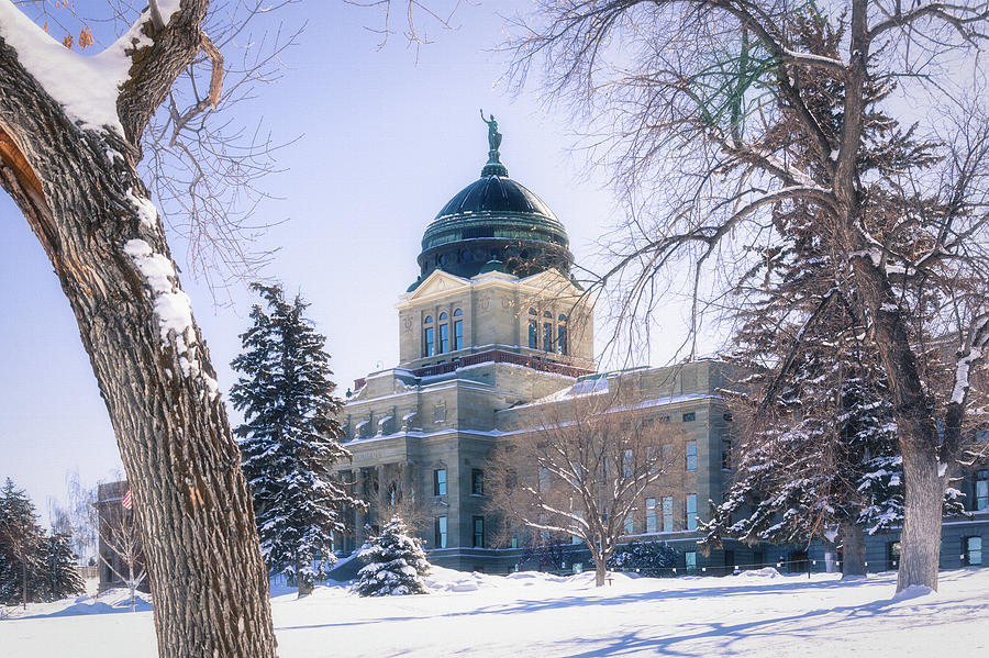 Montana State Capitol Building in Helena, Montana by Tatiana Travelways