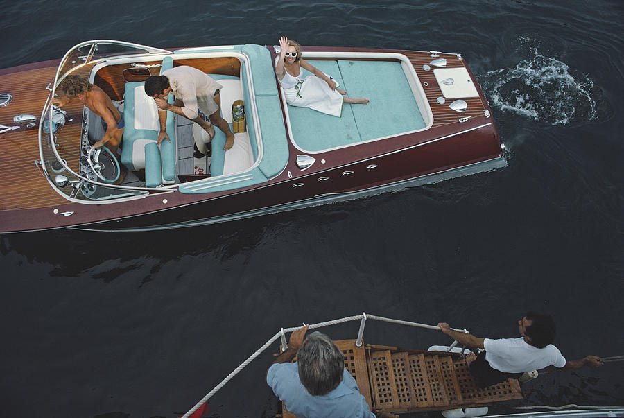 People Photograph - Monte Carlo by Slim Aarons