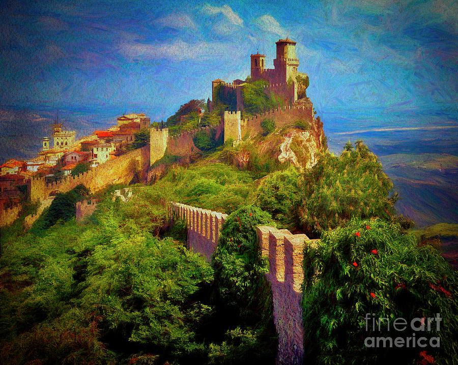 Monte Titano by Edmund Nagele