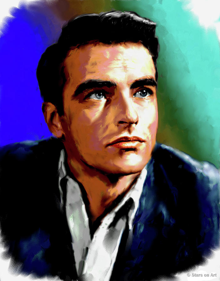 Montgomery Clift Painting Painting