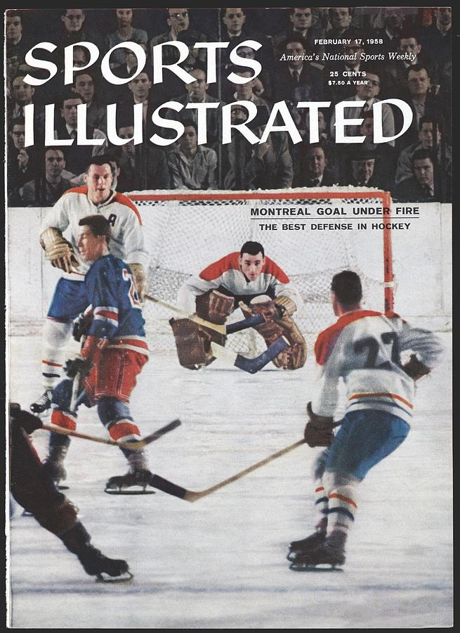 Montreal Canadiens Goalie Jacques Plante Sports Illustrated Cover Photograph by Sports Illustrated