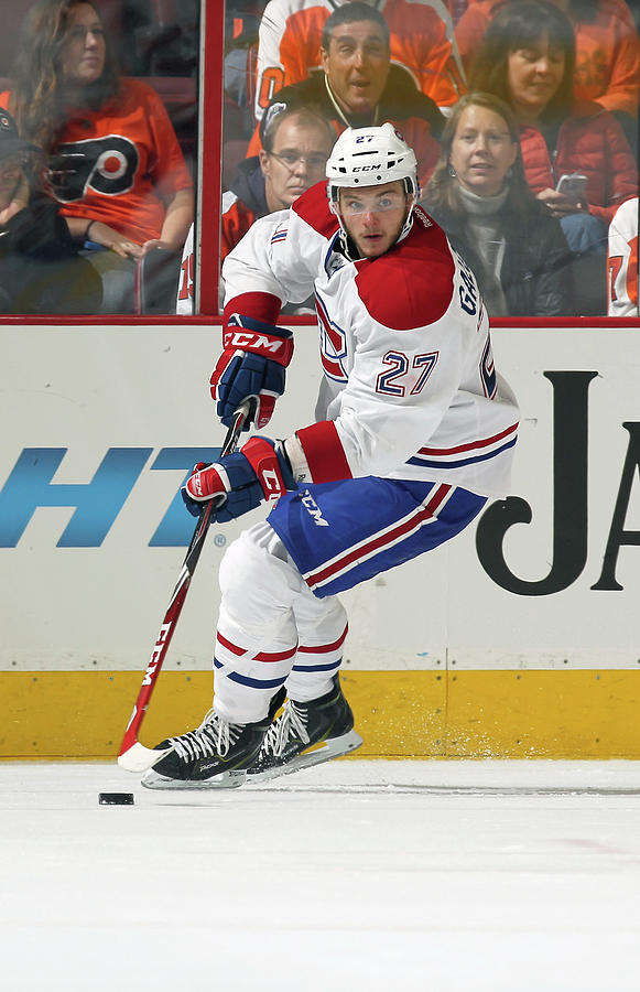 Montreal Canadiens V Philadelphia Flyers Photograph by Len Redkoles