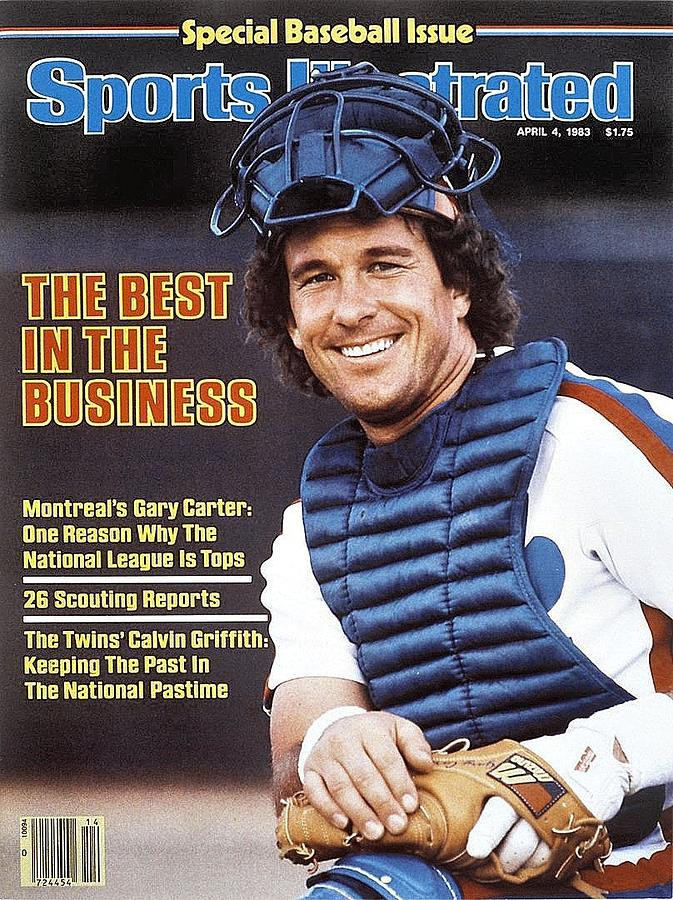Montreal Expos Gary Carter, 1983 Mlb Baseball Preview Sports Illustrated Cover Photograph by Sports Illustrated