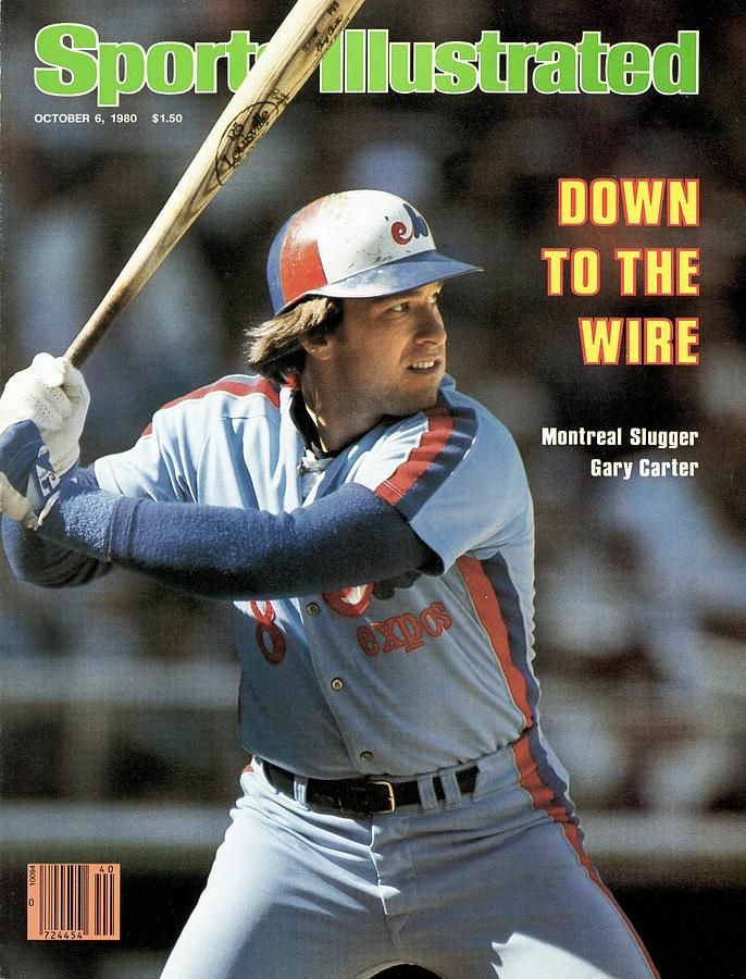 Montreal Expos Gary Carter... Sports Illustrated Cover Photograph by Sports Illustrated
