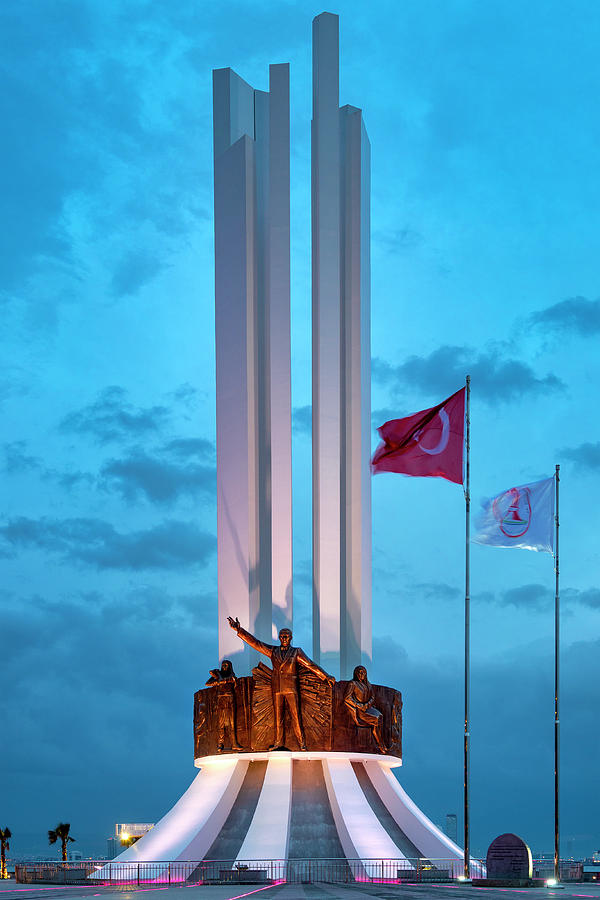 Monument of Ataturk His Mother and Women s Rights by Fabrizio Troiani