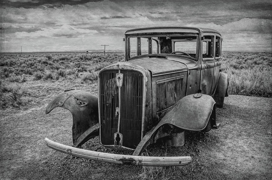 Monument to Route 66 by Andrew Wilson