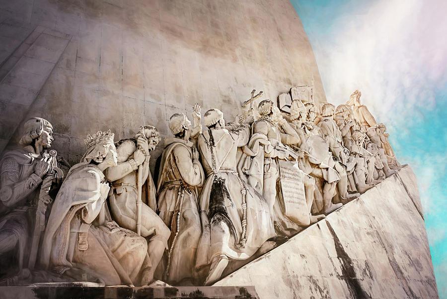 Lisbon Photograph - Monument To The Discoveries Belem Lisbon  by Carol Japp