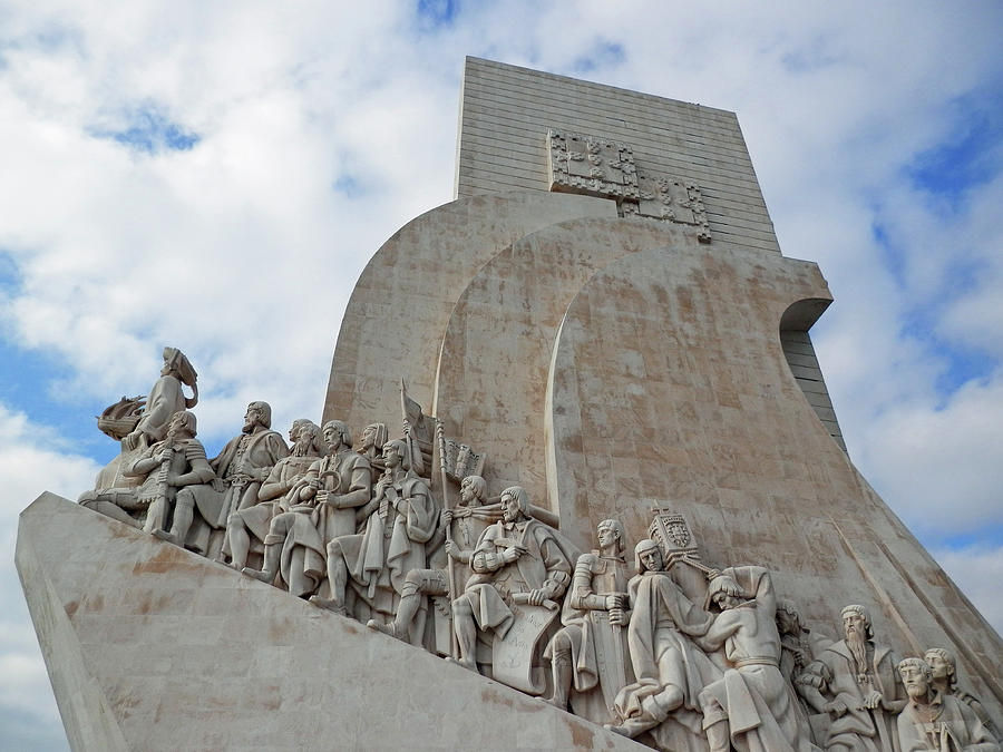 Monument to the Discoveries, Belem, Portugal by Pema Hou