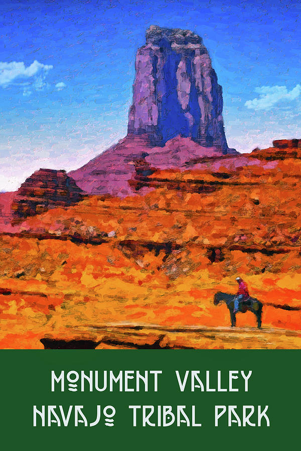 Monument Valley by Chuck Mountain