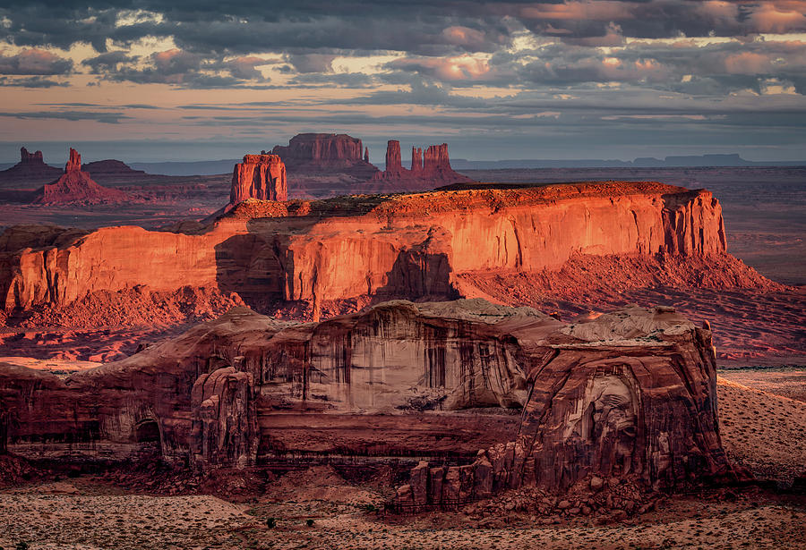 Monument Valley from Hunt's Mesa 3 by William Christiansen