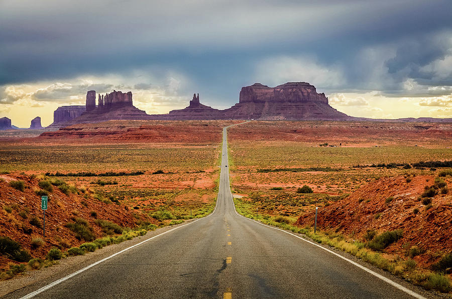 Monument Valley Photograph by Posnov