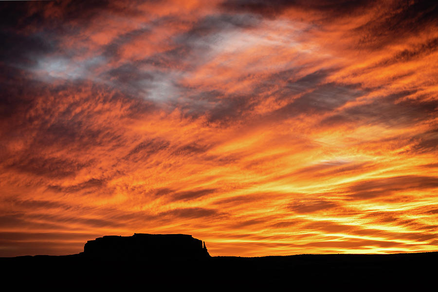 Monument Valley Sunset 2 by William Christiansen