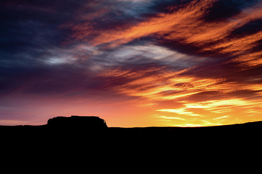 Monument Valley Sunset by William Christiansen