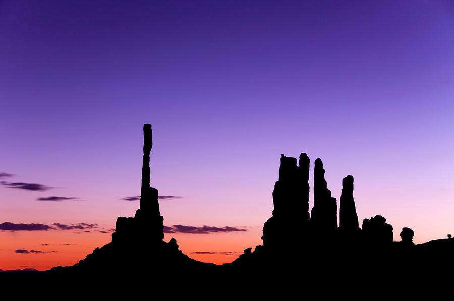 Monument Valley, Totem Pole, Dawn, Yei Photograph by Russell Burden