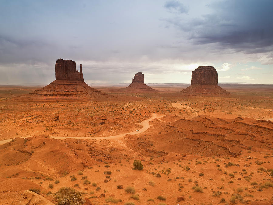Monument Valley Tribal Park Photograph by Pgiam