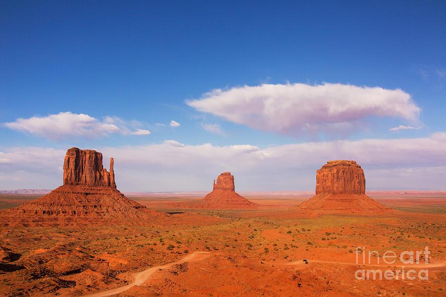 Mountains Photograph - Monument Valley, United States by Stanislavbeloglazov