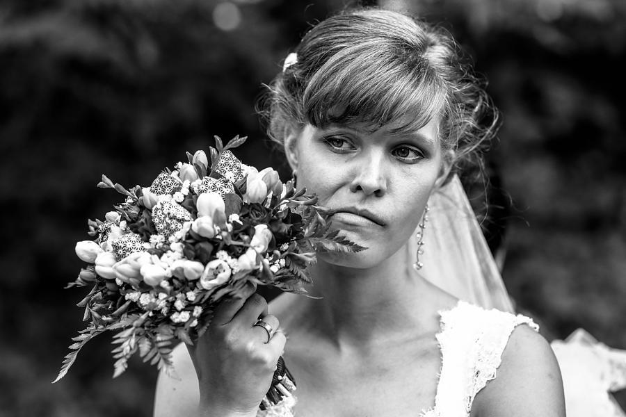 Wedding Photograph - Mood by Mark Kling