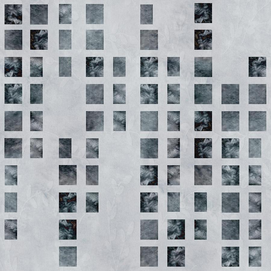 Moody Blues Data Pattern Digital Art