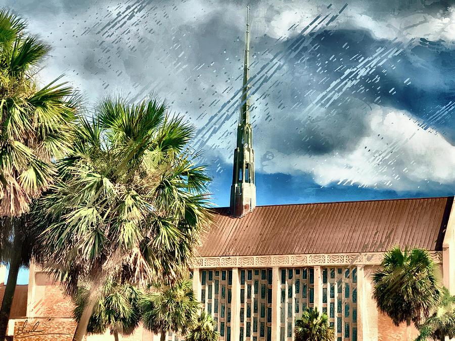 Moody Methodist Church by GW Mireles
