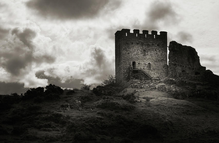 Moody Old Castle Ruin Photograph by Nicolasmccomber