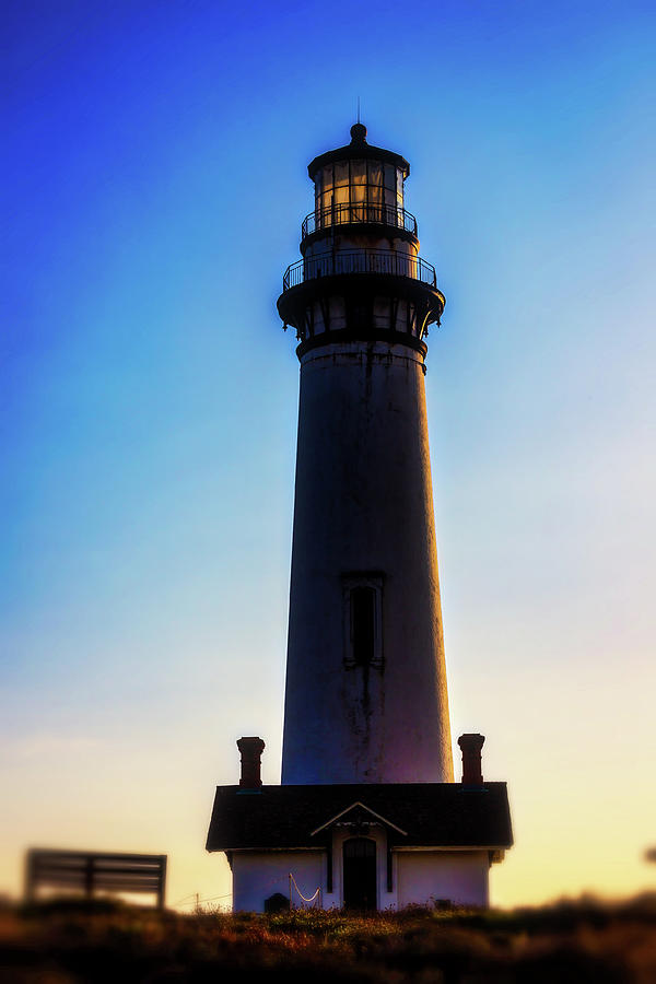 Moody Pigeon Point Lighthouse by Garry Gay