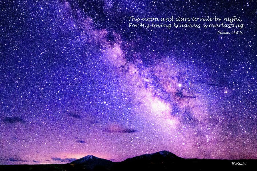 Moon and Stars by Tim Kathka