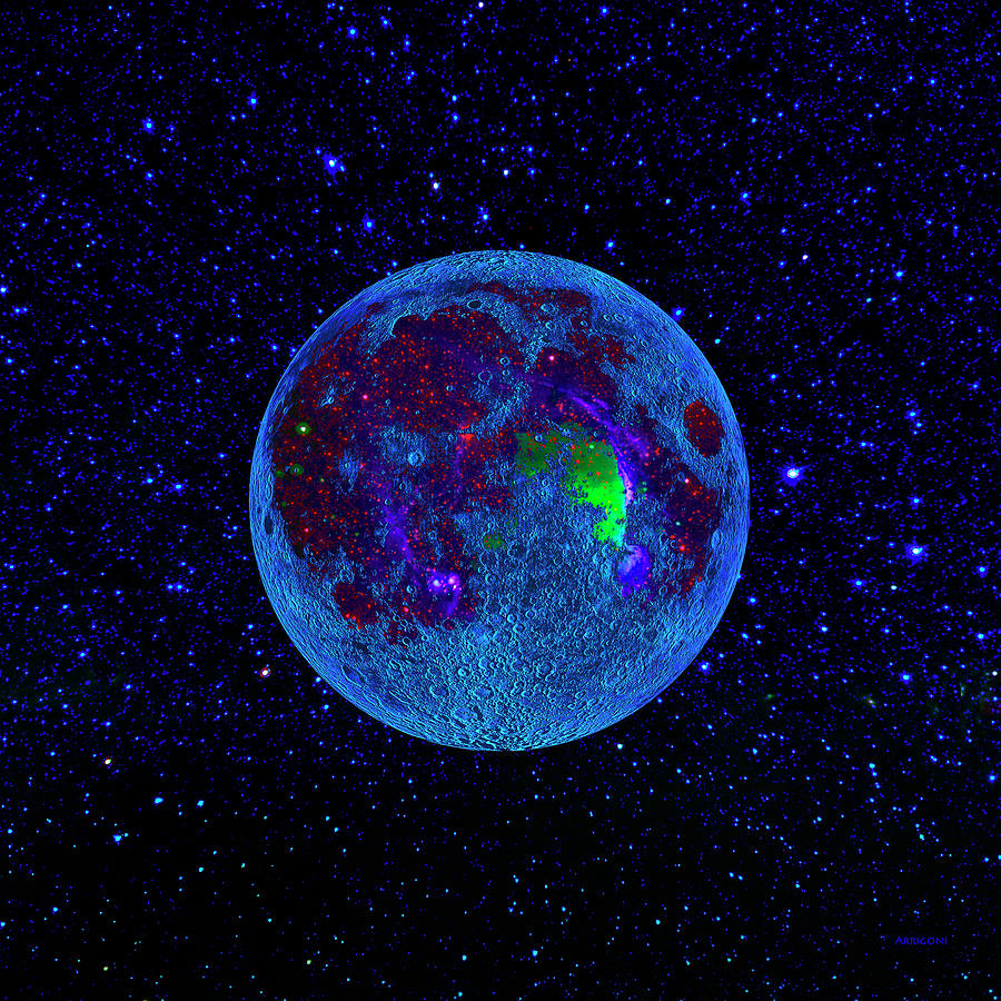 Moon Colonies by David Arrigoni