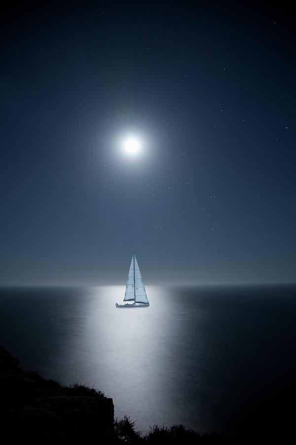 Moon-glade Photograph by Yulkapopkova